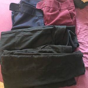 Lot of loft work pants